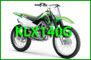 KLX140G beginner dirt bike