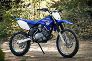 Yamaha beginner dirt bike