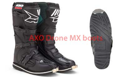 AXO Drone motocross boots and sole