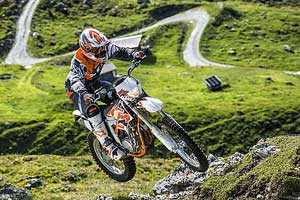 KTM 250R two stroke dirt bike
