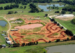 aerial image river valley mx track