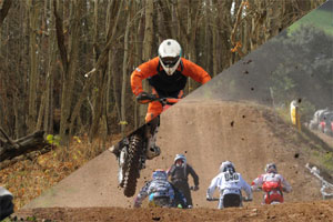 motocross and trail bikes image