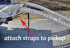dirt bike ramp straps