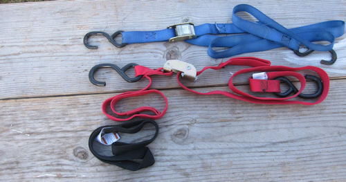 dirt bike tiedown straps